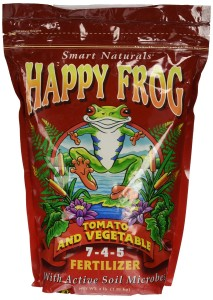 happy frog by foxfarm fertilizers