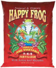 foxfarm happy frog organic fertilizer