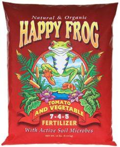 foxfarm happy frog organic fertilizer
