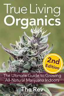 True Living Organics book by the Rev