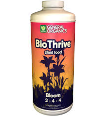 biothrive bloom hydroponic vegan fertilizer
