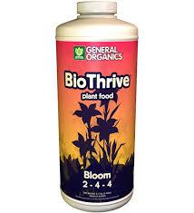 biothrive bloom hydroponic vegan fertilizer