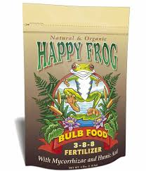 foxfarm happy frog bulb food