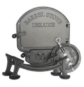 barrel stove delux wood stove kit