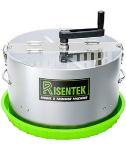 risentech bud-leaf trimmer: cheap for cannabis machine