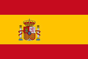 Country of Spain Flag