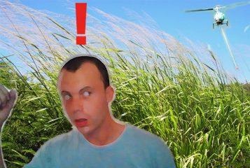I RAN FROM A POT BUST HELICOPTER! (Marijuana Eradication Team)