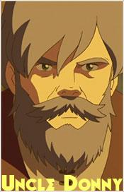 Depiction of Donny