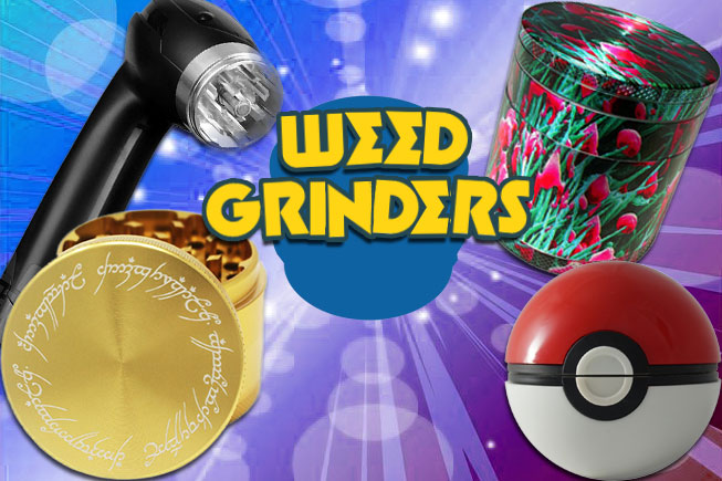 6 Cool Weed Grinders CHEAP!