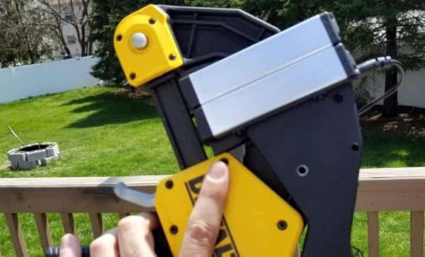 DIY rosin Dewalt or Irwin hand clamp with press-plates