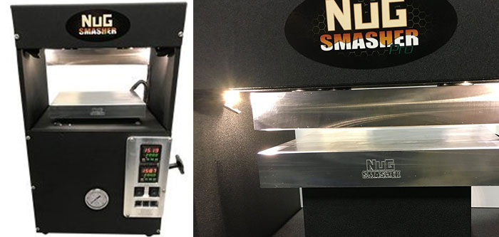 nug-smasher-pro best professional rosin press