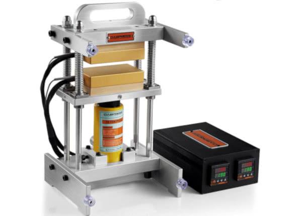 top hydraulic rosin press: 1400-psi high-pressure extraction machine
