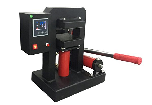 top hydraulic rosin press: 1400-psi high-pressure extraction machine