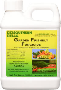 Garden Friendly Fungicide by Southern Ag: Bacillus amyloliquefaciens