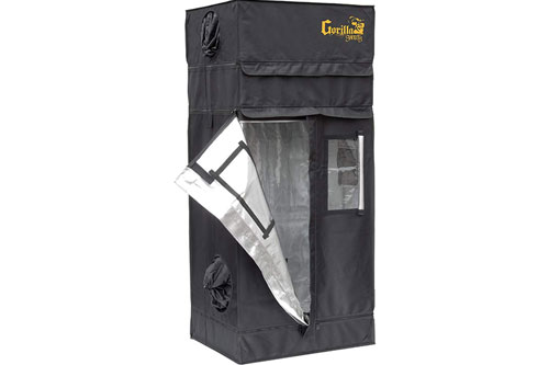 Gorilla Grow Tent Shorty 2x2.5: Best Closet Grow Tent 2019