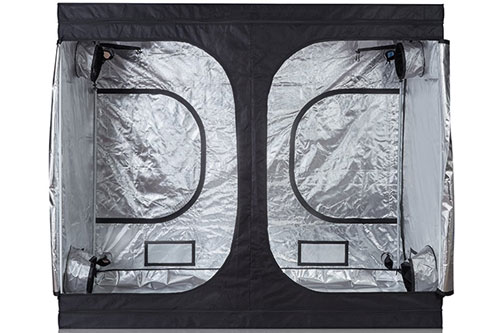 Hongruilite 120x60x80 600D Big High Reflective Mylar Good Hydro Weed Grow Tent