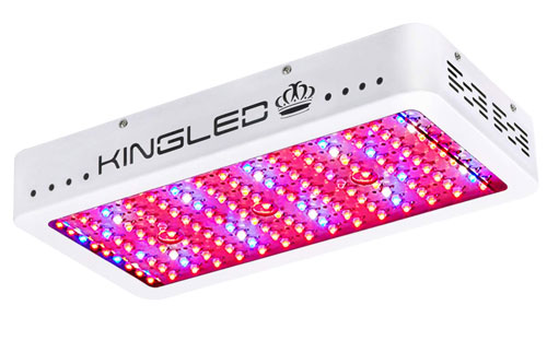 King Plus 1500W Double-Chips LED Grow Light Great Full-Spectrum