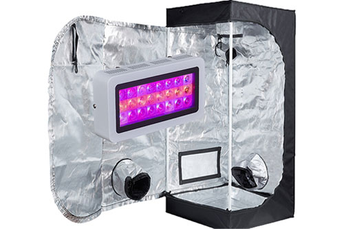 #1 Best Grow Tent Kit 2020: TopoGrow LED Grow Tent Complete Kit
