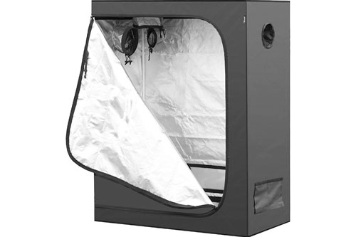 iPower 48x24x60 Hydroponic Water-Resistant Grow Tent: Trusted by Marijuana Growers