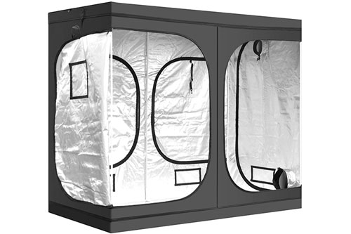 iPower 96x48x78 Hydroponic Mylar Grow Tent: Bestselling Grow Tent for Cannabis 2019