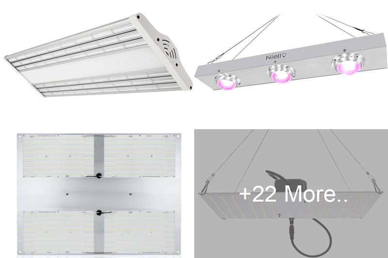 Top 25 Best LED Grow Lights 2019