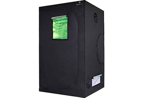 CoolGrows 48x48x80 Grow Tent For Weed Growing: Best Reviewed Value
