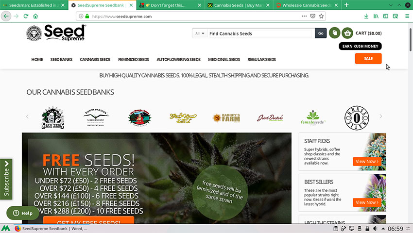 SeedSupreme Seed Bank Review