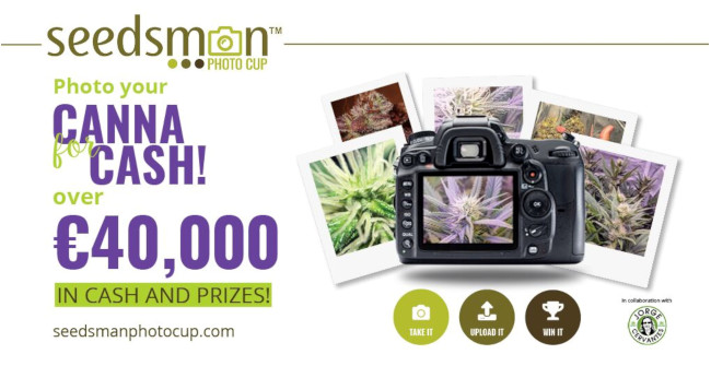 Seed Bank Giveaway - Seedsman Photo Cup