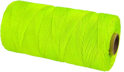 Braided nylon cord line for hanging buds
