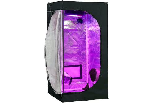 #2 Cheapest Grow Tent for Weed 2021: GreenHouser 24x24x48