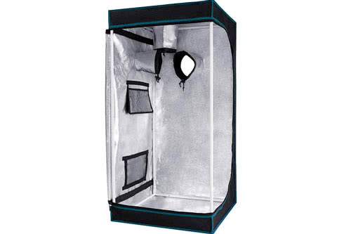 #4 Cheapest Grow Tent for Weed 2021: Opulent Systems 24x24x48