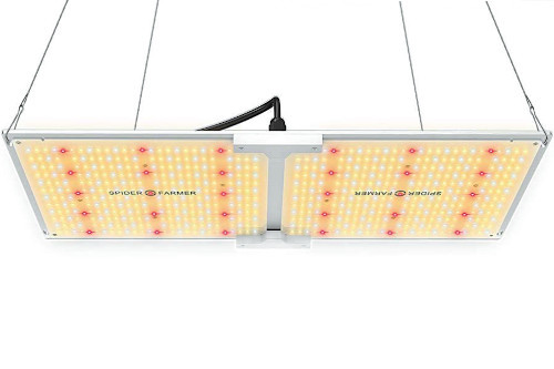 Spider Farmer SF-2000 LED Grow Light Samsung Chips LM301B and Meanwell Driver Great for Marijuana Growing