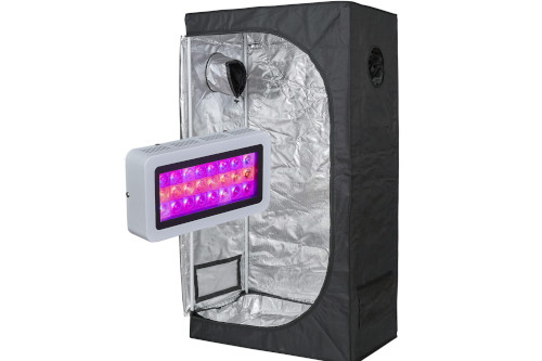 #2 Best Grow Tent Kit 2020: TopoLite LED Grow Light + Multiple Size Grow Tent Kit