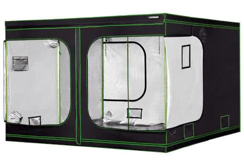 #4 Best Large Grow Tents 2021: VIVOSUN 96x96x80