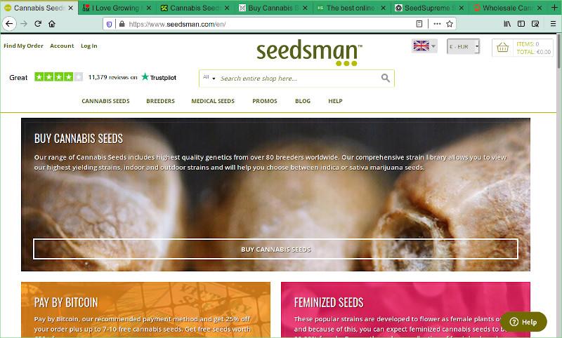Seedsman Seed Bank Review