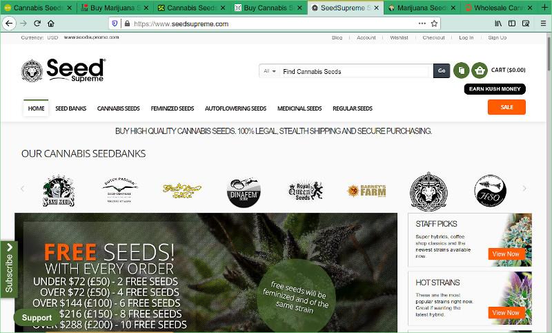 SeedSupreme Seed Bank Review