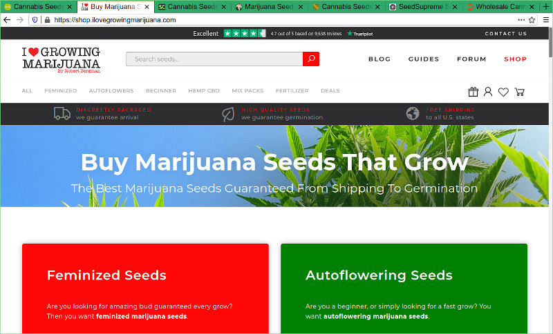 I Love Growing Marijuana Seed Bank Review