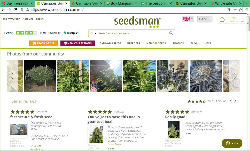 Seedsman Seed Bank Review